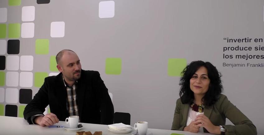 Entrevista de María José Domínguez sobre los Certificados de Profesionalidad al docente y ex alumno Denís Torrado en Los Desayunos Femxa.