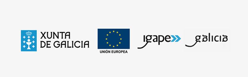 logos de xunta e igape en relación a las transformación digital