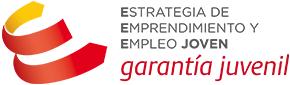Logo de garantía juvenil, grupo de beneficiarios de RSC