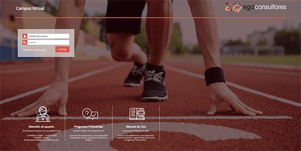acceso a plataforma e-learning de empresa