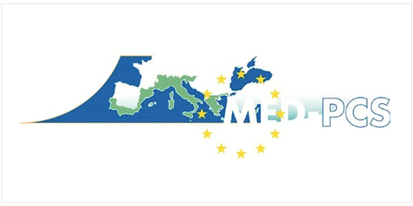 Logotipo proyecto europeo Med-Pcs