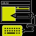 Icono creativity para proyectos de contenidos e-learning