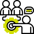 Icono oboarding para proyectos de contenidos e-learning