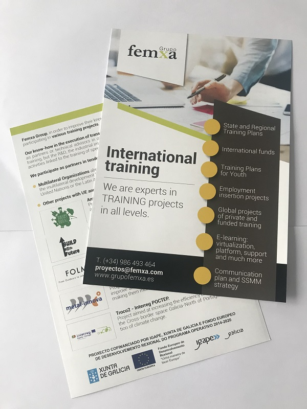 flyers semana de la educación igape