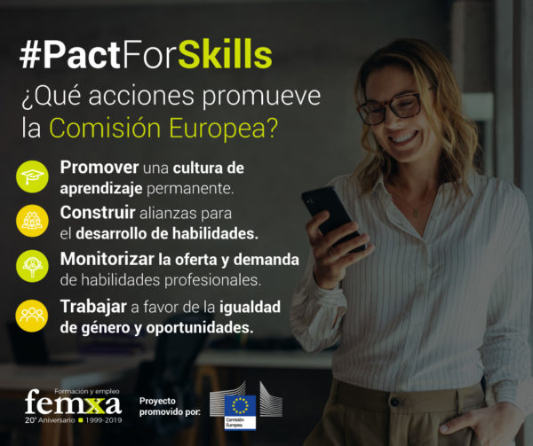 acciones de pact for skills