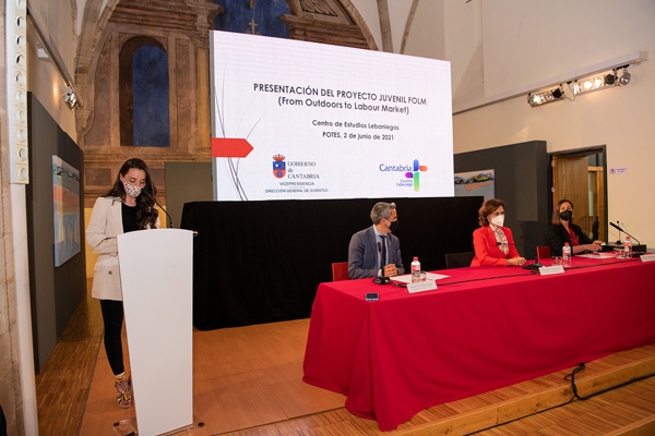 Irene Lanuza presentación folm